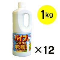 和協産業 ピーピースカット [1kg ×12]  - 排水パイプ用液状洗浄剤