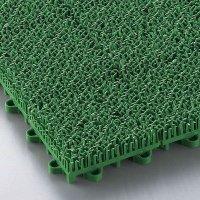山崎産業 エバック若草ユニット グリーン - 耐久性に優れた業務用人工芝