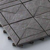 山崎産業 石目ユニットE - 天然石の風合いを大切にしたデザインスノコ