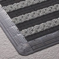 山崎産業 樹脂システムマット 縁駒 - 樹脂システムマット専用の縁駒