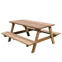 ■受注生産品・キャンセル不可■山崎産業 テーブルベンチ - 強風時にもしっかり安定する一体型ベンチ【代引不可】