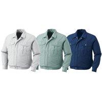 XEBEC ジーベック 空調服 KU90540 長袖ブルゾン(ウェアのみ) - 透湿性に優れた素材を使用した作業服