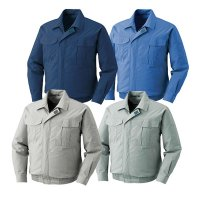 XEBEC ジーベック 空調服 KU90550 長袖ブルゾン (ウェアのみ) - 綿100%素材で作られた作業服