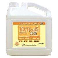 ペンギンワックス バスフレッシュ 中性[4L] - 除菌剤配合業務用バスクリーナー