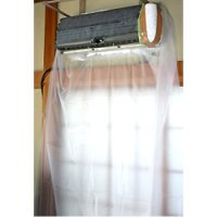 エアコン洗浄壁保護シート 中