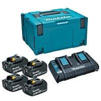 マキタ パワーソースキット2 - 6.0Ahバッテリと充電器のセット