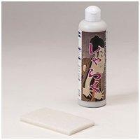 ミヤキ しゃらく - ガラス・鏡の油膜/水アカ/鱗状痕(うろこ)/シリカスケール用超微粒子研磨剤
