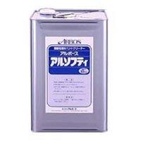 ■送料無料・5缶以上での注文はこちら■アルボース アルソフティ 18kg - 弱酸性液体ハンドクリーナー【代引不可・個人宅配送不可】