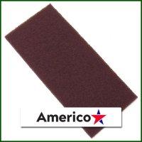 ■ワックス表面を平滑に研削し整える!■アメリコ オクトパス隅擦りパッド  マルーンX(硬さレベル5.5)