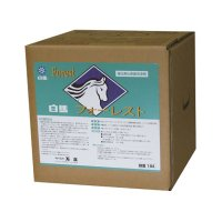 万立(白馬) フォーレスト[18L] - 中性溶剤型ワックス皮膜強化剤兼表面洗浄剤