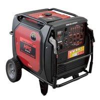 【リース契約可能】メイホー MEIHO ガソリン発電機 HPG6500iS - 定格6500Wハイパワーのインバーター発電機【代引不可・個人宅配送不可】