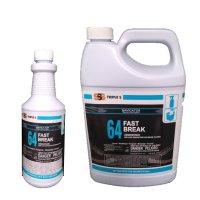 トリプルエス SSS ファストブレイクコンセントレート - 非酸性処方のバスルーム用除菌クリーナー