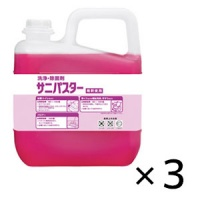サラヤ サニパスター [5kg ×3] - 洗浄・除菌剤