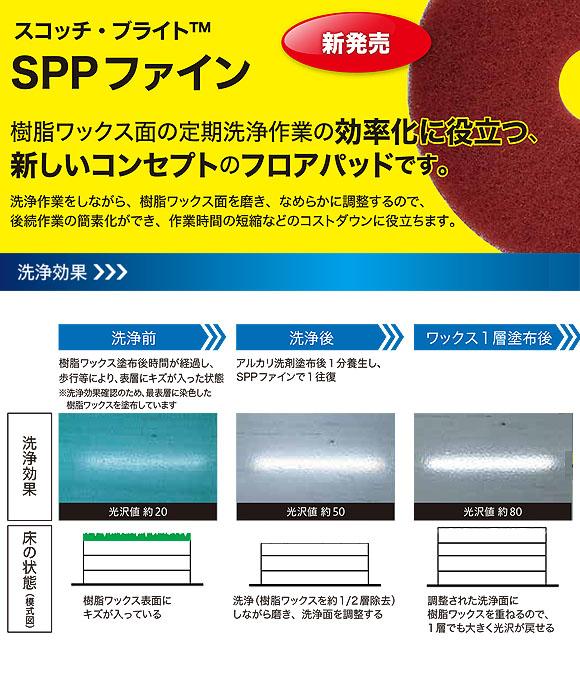 スリーエム ジャパン スコッチ・ブライト SPPファイン 01
