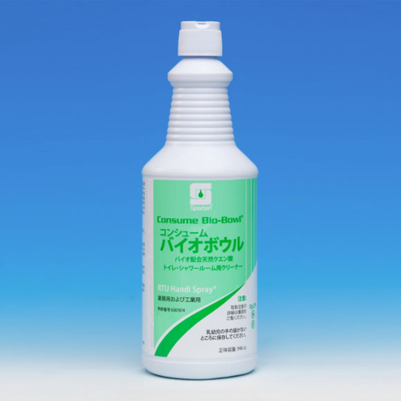 アムテック バイオボウル - バイオ配合天然クエン酸・トイレ・シャワールーム用クリーナー