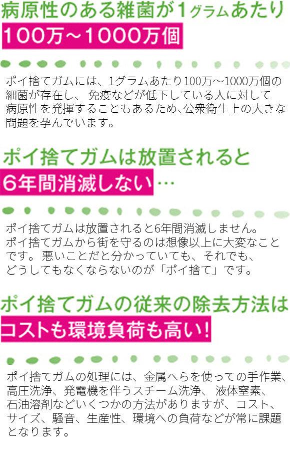 ジェイエスピー ガムワンドG9 - 携帯用ガム取り機【代引不可】_03