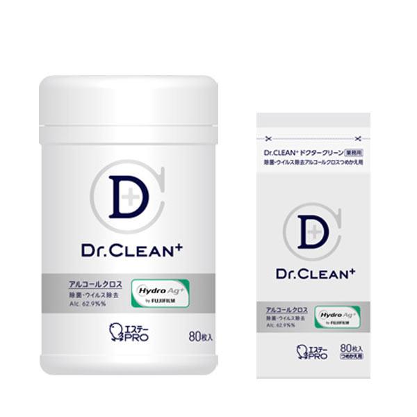 エステーPRO ドクタークリーン(Dr.CLEANC+)除菌・ウィルス除去アルコールクロス