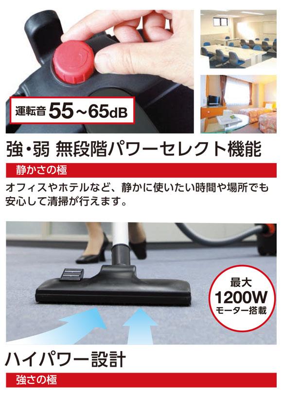 FPS 極3 - 業務用 小型ドライバキュームクリーナー [紙パック] 03