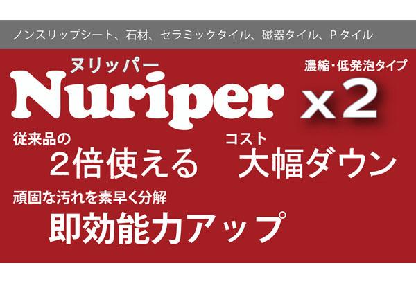 コスケム ヌリッパー×2(バイツー)2倍濃縮タイプ - 強力汚染除去クリーナー 01