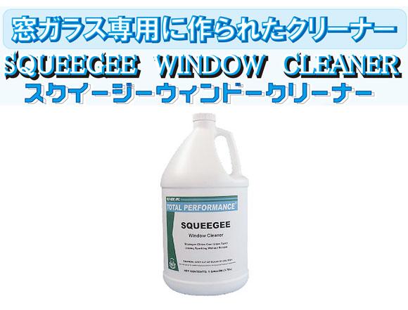 コスケム スクイジーウィンドークリーナー[3.78L] - 窓ガラス用洗剤 0101