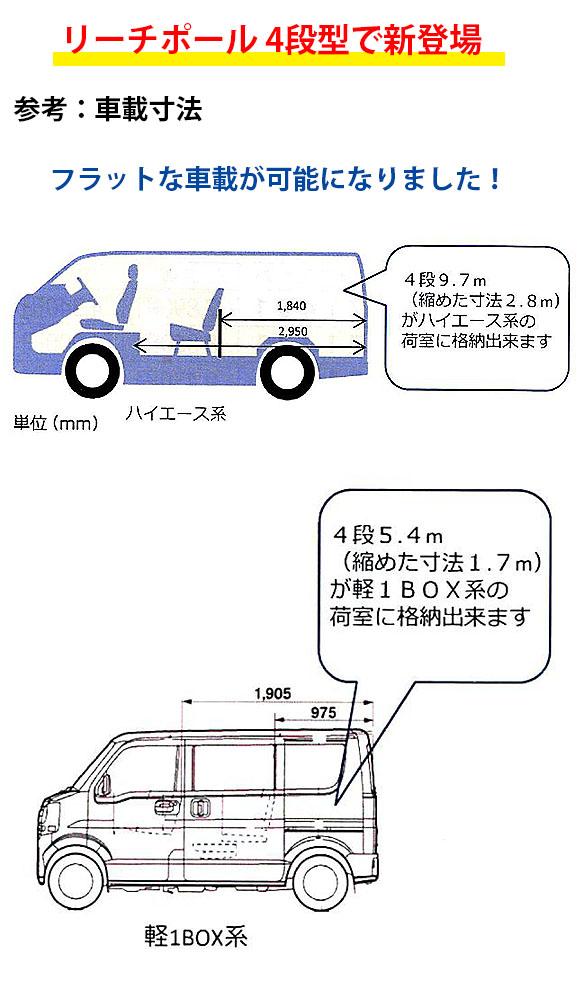 エトレ リーチポール4段式【代引不可】 01
