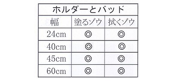 塗るゾウ君 - ワックス塗布モップ 02
