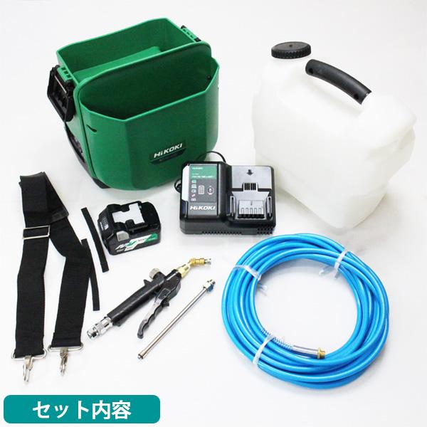 コードレス高圧洗浄機 AW18DBL(SA)形(XP) - エアコン洗浄作業に最適 01