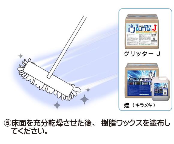 ■汚れたワックス層のみを溶解除去!■JET STAR(ジェットスター) サンプル[250mL] - 表層塗膜リムーヴ洗剤 05