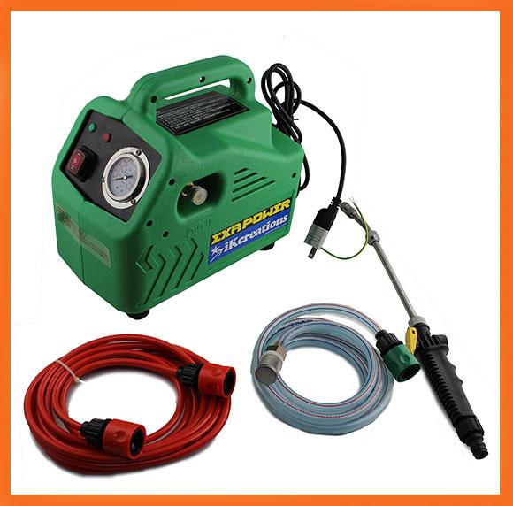 軽量でリーズナブル!サブマシンに最適!■エクサパワーLight(ライト) - 洗浄ガン付・エアコン洗浄機セット