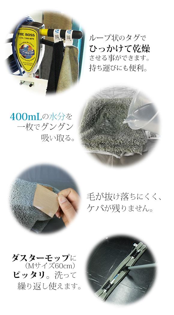 iK プレミアム・グラスクロス - ガラス用 高密度・高耐久マイクロファイバークロス02