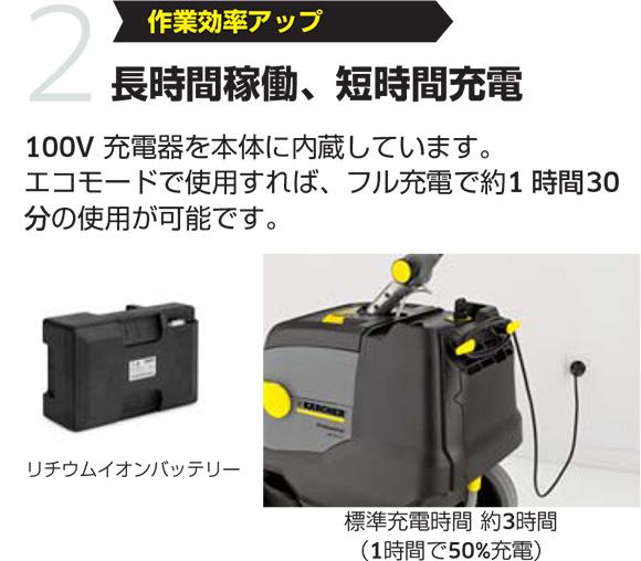 【リース契約可能】ケルヒャー BD 38/12 C Bp【代引不可】説明04