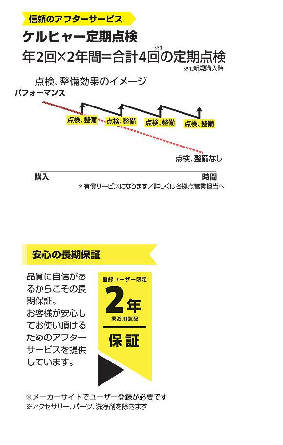 【リース契約可能】ケルヒャー BD 43/25 C Bp - 業務用手押し式床洗浄機【代引不可】05