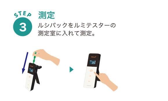 キッコーマンバイオケミファ ルミテスター Smart(スマート) - ATP+ADP+AMPふき取り検査(A3法)【代引不可】 商品詳細08