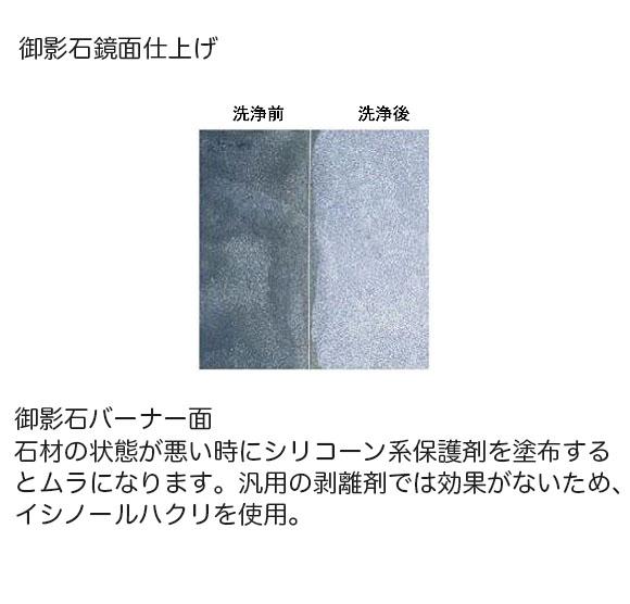 紺商 イシノールハクリ - 石材・タイル用洗浄剤 01