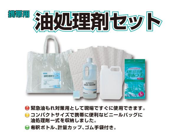 横浜油脂工業(リンダ) 携帯用 油処理剤セット 01