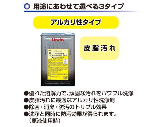 横浜油脂 リンダ 銀バスクリーナー plus 商品詳細05
