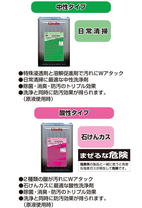 横浜油脂 リンダ 銀バスクリーナー plus 商品詳細06