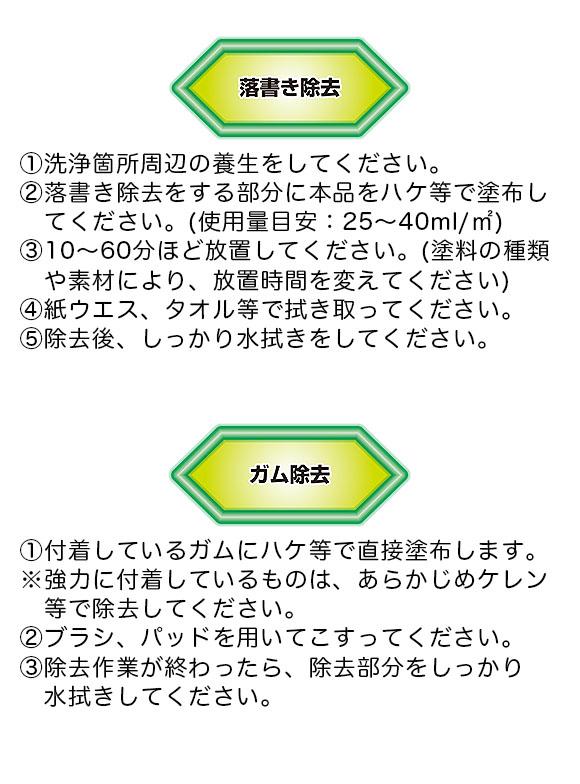 横浜油脂工業(リンダ) マルチパーパスリムーバー[2L] - シール剥がし・ガム取り・落書き除去 02
