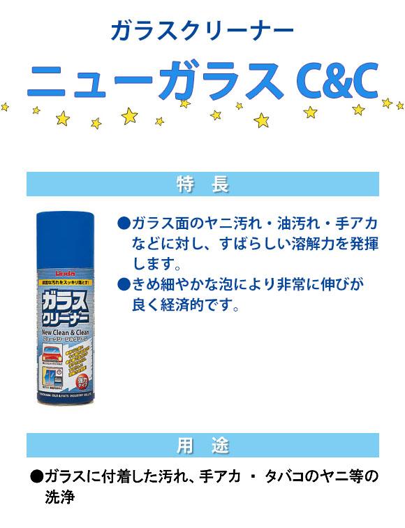 横浜油脂工業(リンダ) ニューガラスクリーン&クリーン[420ml ×24] 01