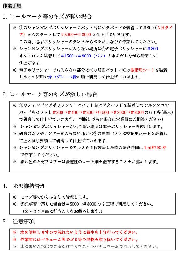 NCA 電子ポリッシャー F-V 02