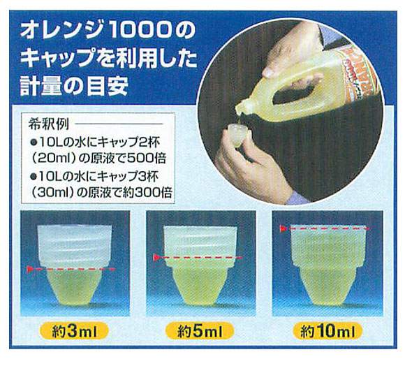 ペンギン オレンジ1000 [800ml ×12] - 超濃縮中性洗剤 04