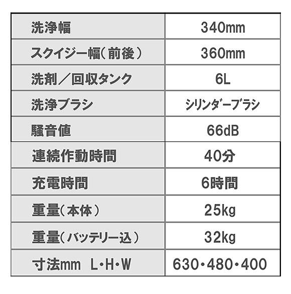 【リース契約可能】ペンギン ニルフィスク SC250 - コンパクト自動床洗浄機【代引不可】04