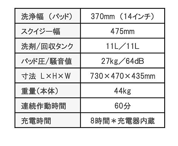 【リース契約可能】ペンギン ニルフィスク SC-351 - 14インチ小型自動床洗浄機【代引不可】04