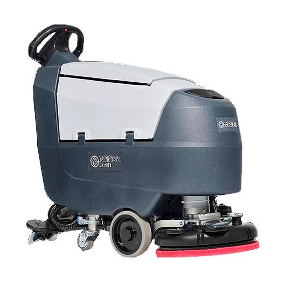 ■〜2018年3月30日まで、バッテリー1個無償券・フロアパッド1ケース・2年間保証付■【リース契約可能】ペンギン ニルフィスク SC401 - 17インチ自動床洗浄機