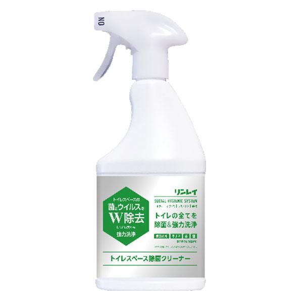 リンレイ トイレスペース除菌クリーナー 450mL - リンレイ ソーシャル ハイジェニック システム トイレスペースの菌とウイルスをダブル除去