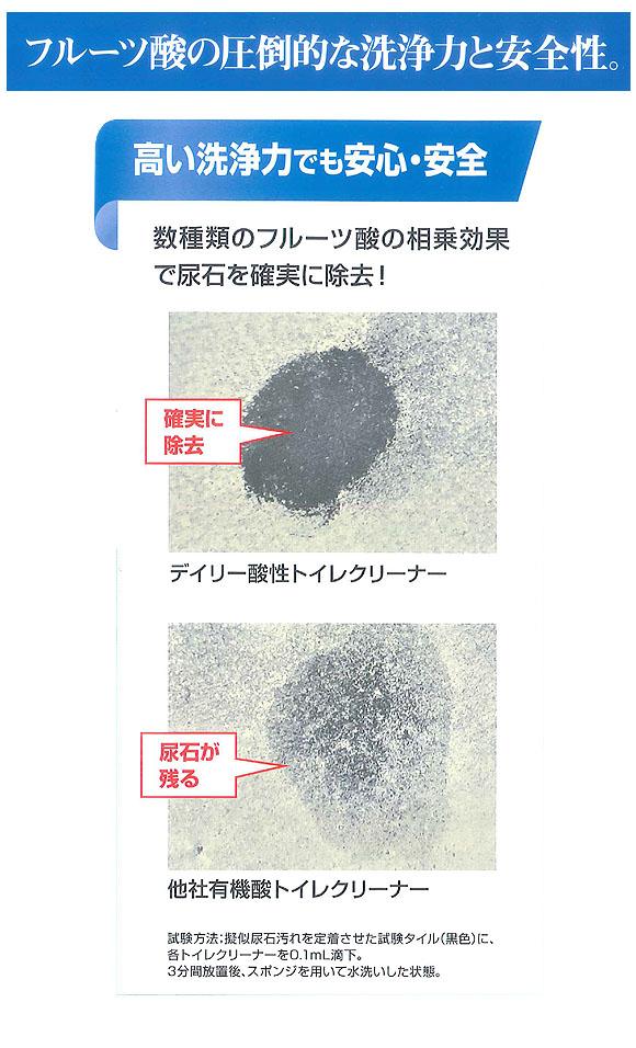 リンレイ R'S PROデイリー酸性トイレクリーナー[800mL x12] 02