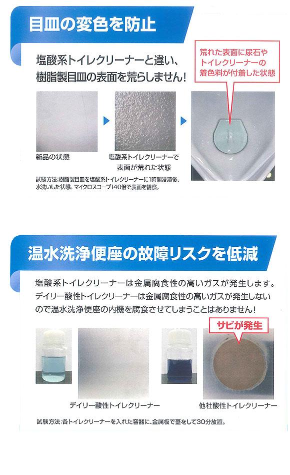 リンレイ R'S PROデイリー酸性トイレクリーナー[800mL x12] 03