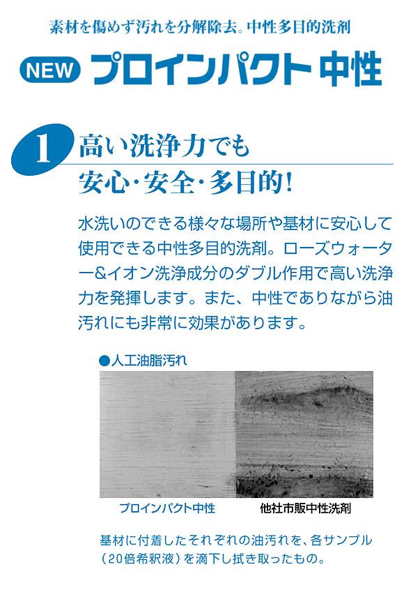 リンレイ NEWプロインパクト(アルカリ性)[18L] - 強力多目的洗剤 03
