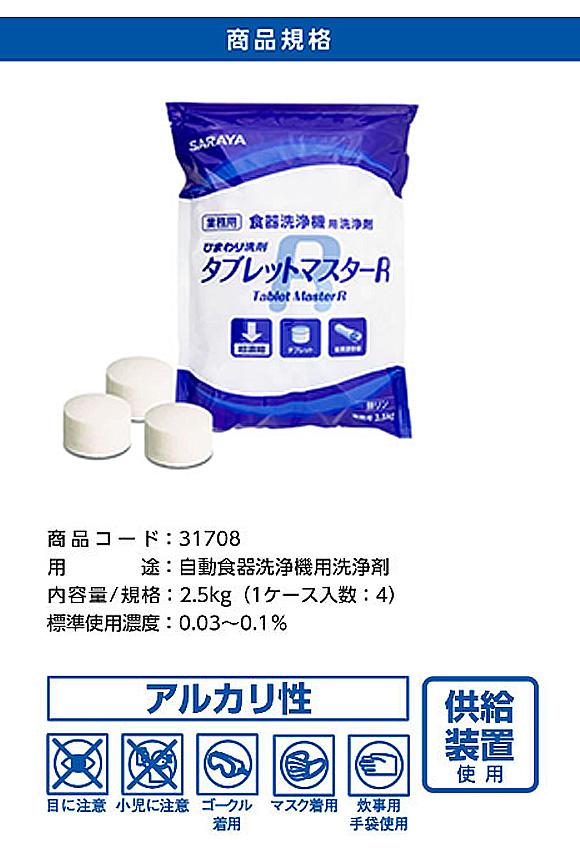 サラヤ ひまわり洗剤 タブレットマスターR [4袋] - 食器洗浄機用洗浄剤 07