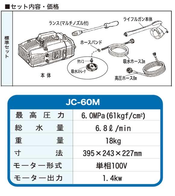 精和産業 JC-60M - ポータブル洗浄機 03